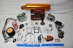 Scooter Big Bore Kit 100cc 50mm Bore QMB139 Scooter Performance Parts Kit5 Gold