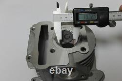 Scooter Big Bore Kit 105cc 52mm Bore QMB139 Large Valve Performance Kit5Chrome