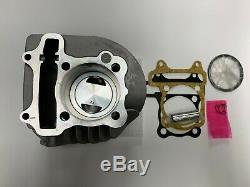 Scooter GY6 150cc High Performance 63mm Big Bore Cylinder Kit with FORGED piston