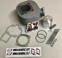 Suzuki LT80 LT 80 100cc Big Bore Top Rebuild Kit Wiseco Piston Gaskets Cylinder