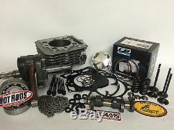 TRX400EX TRX 400EX 400X Stroker Crank Big Bore 465 Cylinder Complete Rebuild Kit