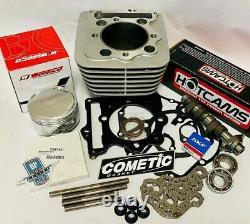 TRX400EX TRX 400EX 87 mil Big Bore Cylinder Top End Kit Stage 3 Hotcam Head Stud