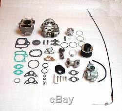 Tuning Zylinder Vergaser Zylinderkopf Kit 88ccm + Nockenwelle Motor Honda Dax