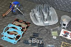 Vito's BLASTER Big Bore 240cc Yamaha 72.00 Cylinder +3mm stroker crank kit