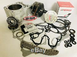 YFZ450 YFZ 450 Big Bore Stroker Motor Kit Complete 500cc Hotrods JE Wiseco CP