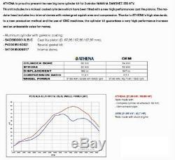 Yamaha 350 Banshee Big Bore Athena 392cc Piston Cylinder Top End Kit Race Ported