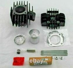 Yamaha PW50 60CC Big Bore Kit Cylinder Piston Ring Top End Rebuild For 1981-2009