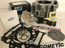 01-05 Raptor 660 102 MM 686 Cylindre Étape 3 Hotcam Big Bore Top End Rebuild Kit
