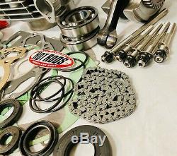 05+ Trx400ex Trx 400ex 400x 89m Big Bore Cylindre Complet Moteur Rebuild Kit