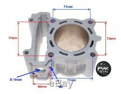 180cc Céramique Nicasil Big Bore Kit De Mise À Niveau De Cylindres Pour Yamaha Wr125 R X