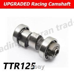 185cc Big Bore 65.5mm Cylindre Piston Camshaft Rocker Arm Kit Pour Yamaha Ttr125