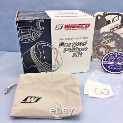 54.50mm Big Bore Wiseco Top End Rebuild Kit 98-13 Kawasaki Kx100 Piston Roulement