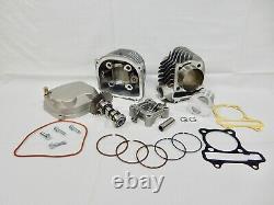 58.5mm (155cc) Big Kit De Forage Pour Scooter Vtt Kart Avec 150cc Gy6 Type # 3 Moteurs A