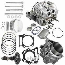 660cc Big Bore 9.11 Compression Cylinder Kit Pour 2002-2008 Yamaha Grizzly 660
