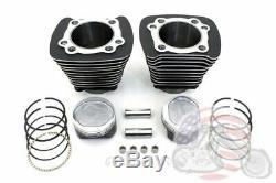 883-1200 Cylindre Noir 9,51 Piston Big Bore Kit De Conversion Harley Sportster