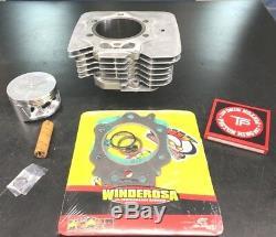 95-03 Honda Foreman 400 Cylindre Extrémité Supérieure Du Piston De Pot 432cc Grand Alésage Reconstruire Kit