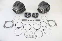 95 Big Bore Twin Cam Cylinder And Piston Kit S'adapte Harley-davidson
