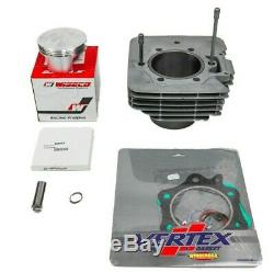 98-04 Honda Contremaître Pour 450 Jug De Cylindre Wiseco Kit D'extrémité Supérieure Du Piston 92mm Grand Alésage