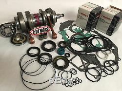 Banshee 350 66mm 370cc Big Bore Pistons Wiseco Hotrods Manivelle Bas Reconstruire Kit