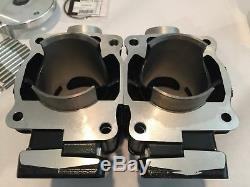 Banshee 66 Mil. 080 370 Cylindres Big Bore Pistons Wiseco Top End Kit De Rechange
