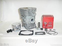 Big Bore 350 Husqvarna, 345, 340, 346xp, 353 Cylindres Et Pistons Kit Joints 45mm