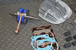 Big Bore Blaster De Vito 240cc Yamaha 72,00 Cylindre + 3 MM Stroker Kit Manivelle