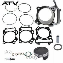 Big Bore Cylinder Piston Gasket Top End Kit Pour Suzuki Ltz 400 434cc 2003-2014