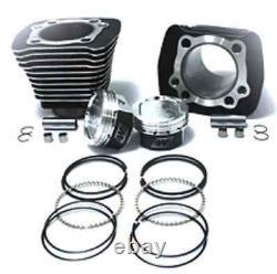 Big Cylindre Et Piston Bore Kit De Conversion Pour Harley Sportster XL 883-1200 86-03