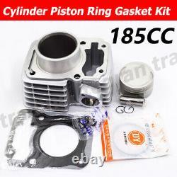 Cylindre Bore 185cc 63,5mm Piston Kit Pour Honda Crf150f Crf 150 F 2006-2017