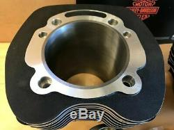 Harley Twin Cam 110 Big Kit Bore, 2007-17 Touring Et Softail Black V-twin