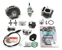Honda Atc70 88cc Big & Tete Bouteille Bore Cames Kit Carburateur Atc 70