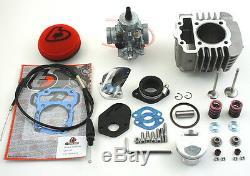 Honda Crf110 Crf 110 132cc Big Bore Kit 26mm Carburateur Surdimensionnés Vannes