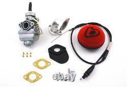 Honda Crf110 Crf 110 20mm Carb Kit Carburateur Stock Big Bore 132cc Tbw9142