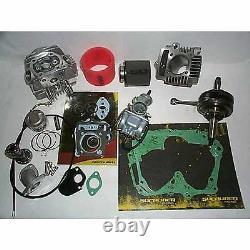 Honda Crf Xr 50 70 Pit Bike 108cc Big Bore Stroker Kit 2 Tête De Course 52mm Piston
