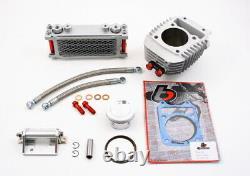 Honda Grom Grand Kit De Forage Avec Refroidisseur D'huile Tb Pièces 186cc Msx125 & Monkey Tbw9154