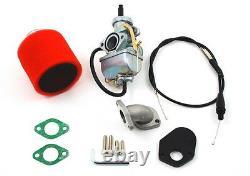 Honda Z50 Ct70 Z 50 Ct 70 Big Bore 20mm Carburateur Carb Intake Kit De Collecteur