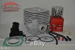 Husqvarna 394, 394xp 58mm Cylinder Kit De Conversion, Big Bore # 503460071 Remplace