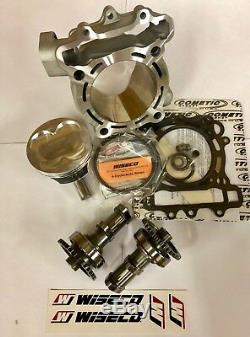 Kawasaki Kx250f Wiseco Big Bore Kit + Cam Bouteille Rêgler 1 290cc 83mm 04-06