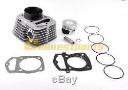 Kit Cylindre Pour Honda Atc 200 Xl200 Seulement 223cm3 250cc Piston 65.5mm Grand Alésage
