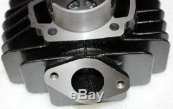 Moteur Head 44mm Reconstruire Big Bore Barrel Kit Piston Yamaha Pw50 Pw60 Py50 Peewee