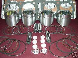 Mtc Kawasaki Kz1000j K M P R Big Bore Kit Piston 1075cc