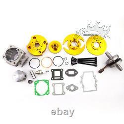 Or 44mm Big Bore Kit Cylinder Piston Head 47cc 49cc Mini Vtt Dirt Pocket Bike