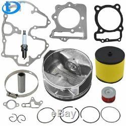 Pour 99-08 Honda 440cc Trx400ex Big Alésage Du Cylindre À Piston Anneaux Top End Kit 89mm