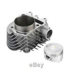 Pour Gy6 150cc 200cc Big Bore Kit Set Culasse Piston Joint Top Fin 61mm