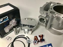 Raptor 700 734cc Big Alésage Du Cylindre 105,5 Cp Piston 12,51 Cometic Top End Kit