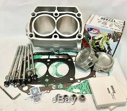 Rzr800 Rzr 800 Big Bore Kit 83mm Cp Cylindre Top End Reconstruire Kit 820c Tête Goujons