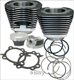 S & S Cycle 97 CI Big Bore Kit Cylindre Noir 9,71 Compression 99-06 Harley