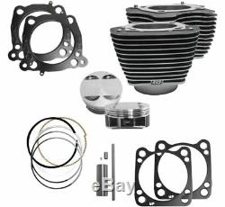 S & S Cycle M8 Big Alésage Du Cylindre À Piston Kit 107 124 Harley Touring Softail 17-20