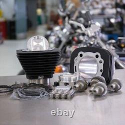 S & Ss Cycle Black Big Bore Hooligan Kit 1200cc 1250cc Harley Sportster 00-20 XL