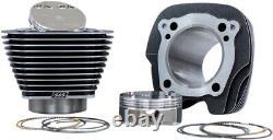S&s 128 Big Bore Cylinder Pistons Top End Kit M8 114 117 Moteur 17+ Harley